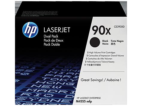 HP CE390XD (90X) SIYAH 2 LI PAKET YUKSEK KAPASITELI TONER 24.000 SAYFA