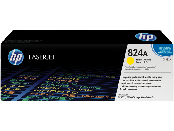 HP CB382YC (824A) SARI TAAHHUTLU TONER 31.000 SAYFA